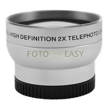 37mm 2.0X TELE Telephoto Lens for Digital Camera 2X 37