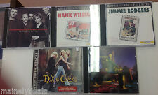 Country Music CD Lot Of 5! Hank/Dixie Chicks Plus More!! Tested! Works!