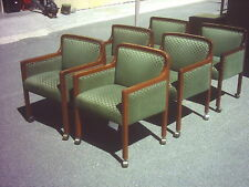 Conference Room Or Guest Chairs Wood 4 Legged Casterswheels Wedeliverlocallyca