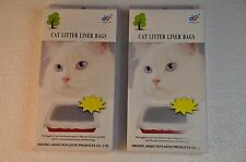 48 Cat Litter Liner Bags two Packs of 24 Bags each FREE SHIP from the US