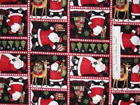 Christmas Fabric - Santa's Gifts Holiday Patch Debbie Mumm - SSI YARD