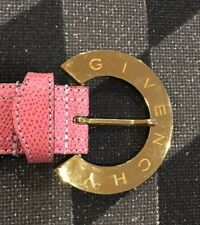 EUC Givenchy Women's Pink Belt S