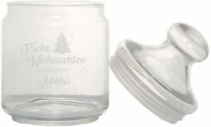 "Keksglas/Bonbonglas ""Frohe Weihnachten wünscht dir..."" Geschenkidee Weihnachten"