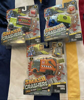 (3) Series 1 Smash Crashers NIB