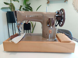 Singer 201K Semi Industrial Sewing Machine Leather, Denim & Upholstery Serviced