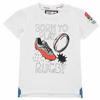 RFU Graphic T Shirt Youngster Boys Crew Neck Tee Top Short Sleeve Lightweight