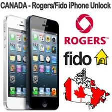 ROGERS FIDO IPHONE & SAMSUNG SONY LG UNLOCK CANADA - ALL MODELS