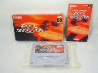 FINAL STRETCH Super Famicom SFC Nintendo Import JAPAN Video Game bcb sf