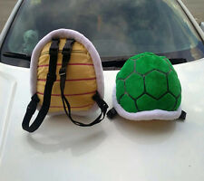 New Super Mario Bros. Plush Doll Figure Turtle Shell CUSHION Pillow Backpack