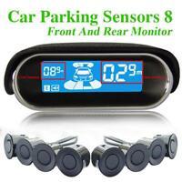 Capteurs Parking Stationnement Radar de Recul Voiture Car Arrière 8 Sensors Kit