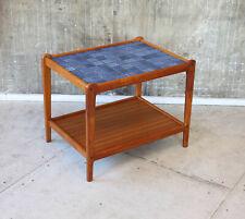 Vintage 60er Teak Beistelltische Couchtisch Danish Mid-Century 60s Side Table