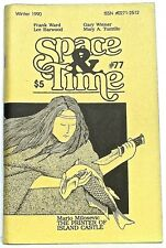 SPACE AND TIME 77 (Winter 1990)—Gordon Linzner fanzine—Dorr, Turzillo, Tiani...