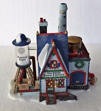 """Department 56, North Pole, """"Real Plastic Snow Factory"""""""