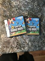 Two Super Mario Bros.Nintendo DS Game BOX AND MANUAL ONLY - NO CARTRIDGE