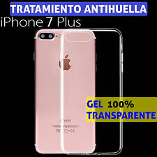"FUNDA TPU DE GEL SILICONA ULTRAFINA TRANSPARENTE PARA IPHONE 7 PLUS 5,5"" CARCASA"
