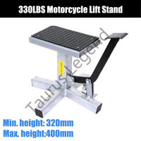 150kg Motorcycle Lift Dirt Bike Stand Lifter Work Bench Table 330LBS