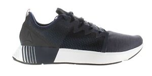 Reebok Mens Fusium Run Collegiate Navy/White/Black Running Shoes Size 11