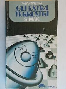 Gli extraterrestriSimak cliffordBompiani tascabili 125 romanzo fantascienza 86