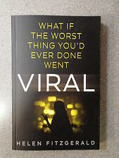 VIRAL by HELEN FITZGERALD - FABER & FABER 2016 *PROOF COPY* P/B UK POST £3.25