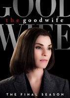 Good Wife: The Final Season - 6 DISC SET (2016, DVD New)