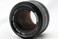 Minolta MD 50mm 1:1.4 Lens *As Is* #M010c