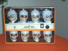 Halloween Musical Color Changing Skull LED String Lights
