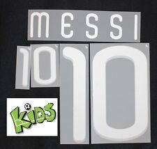 Argentina Argentinien Messi Flock Away Adidas Kinder-Kids-Trikot WM2010-2012