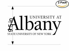 University at Albany 2 Stickers 9.5 inches Sticker Decal