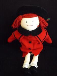 "Madeline Eden Christmas Doll 1990 20"" & Tag Plaid Dress"