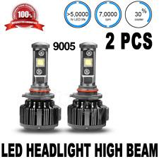 2X LED Headlight High Beam 9005 B 6000K Super White DRL car Light Bulb