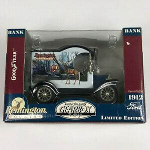 Gearbox 1:24 Diecast Remington Country Ford Model T 1912 Delivery CarBank