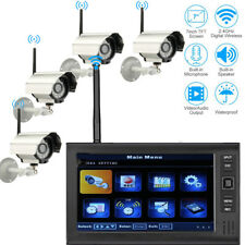 "SY602D14 Wireless 7"" TFT LCD 2.4G DVR IR-CUT Camera Home Security System Video"