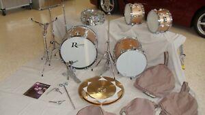 "ROGERS ""Top Hat"" Drum Set - VINTAGE..! ***Main Set***"