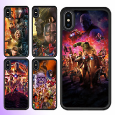 iPhone 8 7 6 Plus X 5 SE 5c 5s Case Marvel Avengers Infinity War Cover For Apple