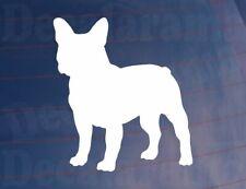 Car Sticker FRENCH BULLDOG DOG SILHOUETTE Novelty Van Window Bumper Home House