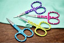 "Embroidery Scissors: 9.3cm/3.6"": Polka Dots"