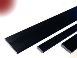Carbon-Vierkant-Stab 0.4x2.0 x 1000 mm Rechteck Flach Stab CFK Carbonstab Kohle