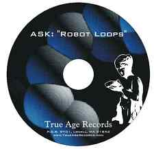 """Robot Loops"" Sample Loops, Producer kit: Synth Basses, Electronic Drums, Pads"