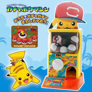 TOMY Pokemon Gashapon Machine Arcade Game Gacha Pokeball Toys Figures Bundle Lot