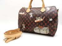 LOUIS VUITTON Monogram Catogram Speedy 30 2way Shoulder Hand Bag M44401 V-3304