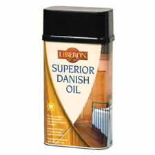 Liberon Superior Danish Oil 250ml Brings out the Natural Grain of the Timber