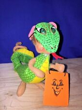"Rare & New KOMODO DRAGON Halloween Mask Costume ANNALEE Dolls 6"" ▬ 2006 ▬ ❤️"