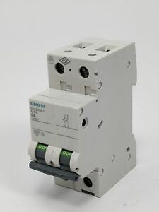 SIEMENS 5SL6206-7 Miniatura Circuit Breaker, Caja Missing