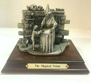 THE TUDOR MINT MYTH AND MAGIC THE MAGICAL VISION COLLECTORS STATUE WITH BOX