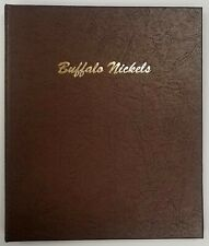 Dansco #7112 Buffalo Nickels coin album! New, without shrink wrap.