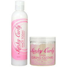 Kinky Curly Knot Today 8oz & Curling Custard 8oz (2PACK)