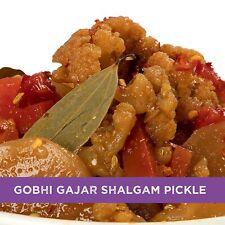 Home Made Gobhi Gajar Shalgam Achar 500 gm Punjabi Sweet & Sour Mixed Pickle