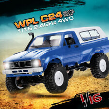 WPL C24 1/16 RC Car Crawler Off-Road With Headlight 4WD Pick-up Truck Gift -US