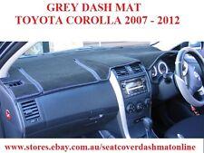 DASH MAT, DASHMAT,FIT TOYOTA COROLLA SEDAN 2006-2012 GREY