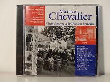 CD ALBUM Chefs d oeuvre de la chanson francaise MAURICE CHEVALIER CF 013 NEUF